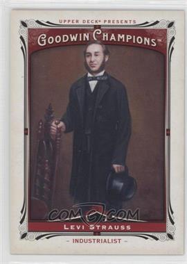 2013 Upper Deck Goodwin Champions - [Base] #205 - Levi Strauss
