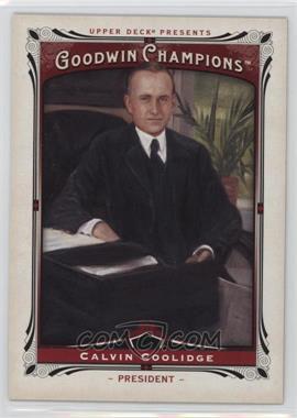 2013 Upper Deck Goodwin Champions - [Base] #208 - Calvin Coolidge