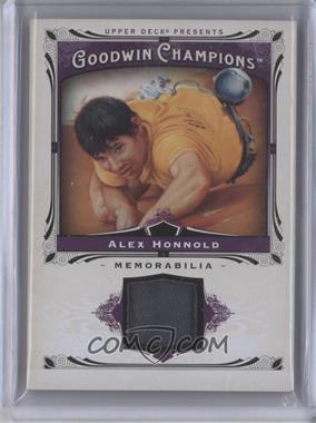 2013 Upper Deck Goodwin Champions - Memorabilia #M-AH - Alex Honnold