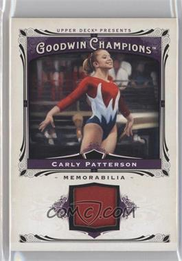 2013 Upper Deck Goodwin Champions - Memorabilia #M-CP - Carly Patterson