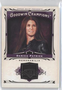2013 Upper Deck Goodwin Champions - Memorabilia #M-DP - Danica Patrick