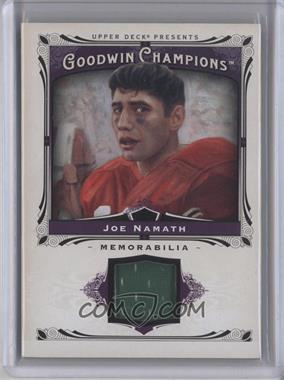2013 Upper Deck Goodwin Champions - Memorabilia #M-NA - Joe Namath