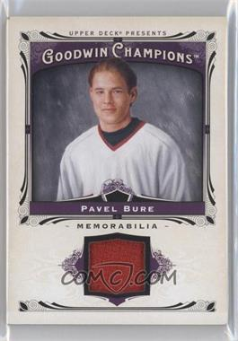 2013 Upper Deck Goodwin Champions - Memorabilia #M-PB - Pavel Bure