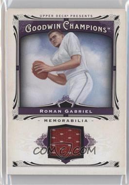 2013 Upper Deck Goodwin Champions - Memorabilia #M-RG - Roman Gabriel