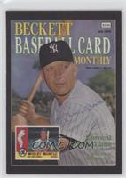Mickey Mantle (Numbered Historic Autographs Back) /500