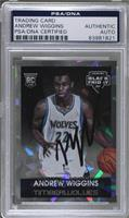 Andrew Wiggins [PSA/DNA Certified Encased] #/25