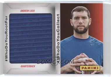 2014 Panini Father's Day - #WhoDoYouCollect Memorabilia #AL3 - Andrew Luck