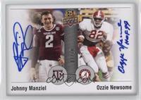 Johnny Manziel, Ozzie Newsome /10