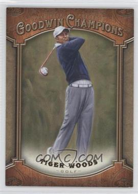 2014 Upper Deck Goodwin Champions - [Base] #100 - Tiger Woods