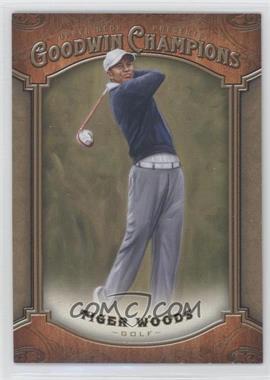2014 Upper Deck Goodwin Champions - [Base] #100 - Tiger Woods