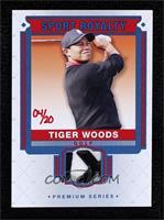 Tiger Woods #/20