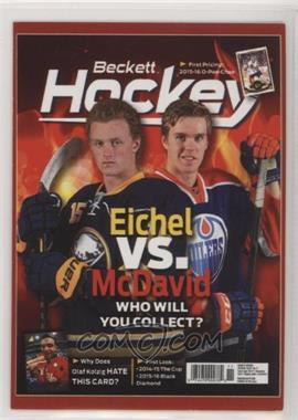 2015 Beckett Covers Toronto Fall Expo - [Base] #JECM - Jack Eichel, Connor McDavid/Sidney Crosby, Mario Lemieux