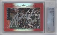 Walter Payton, Johnny Lattner /1 [Cut Signature]