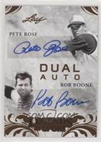 Pete Rose, Bob Boone