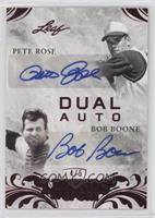 Pete Rose, Bob Boone #/5