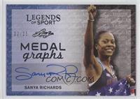 Sanya Richards #2/25
