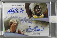 Magic Johnson, Larry Bird /3 [Uncirculated]