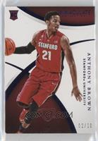 Rookie - Anthony Brown #/10