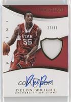 Basketball - Delon Wright #/99