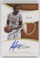 Basketball - Myles Turner #/25