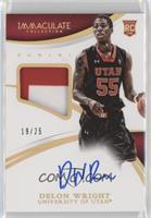 Basketball - Delon Wright [Noted] #/25