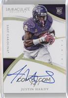 Rookie Autographs - Justin Hardy #/1