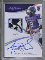 Rookie Autographs - Justin Hardy /1