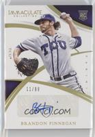Collegiate Rookie Autographs - Brandon Finnegan /99
