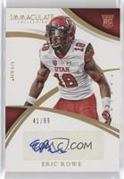 Collegiate Rookie Autographs - Eric Rowe [Noted] #/99