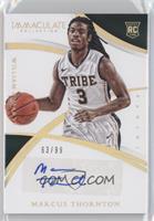 Collegiate Rookie Autographs - Marcus Thornton /99