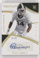 Collegiate Rookie Autographs - Tony Lippett #/99