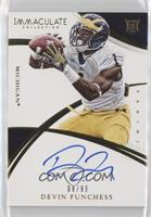 Rookie Autographs - Devin Funchess #/99