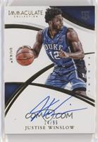 Rookie Autographs - Justise Winslow #/99