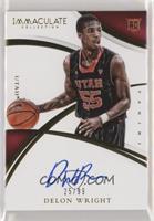 Rookie Autographs - Delon Wright /99