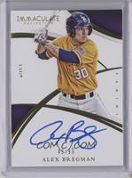 Rookie Autographs - Alex Bregman /99