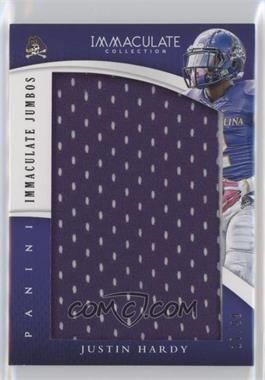 2015 Panini Immaculate Collection Collegiate - Immaculate Jumbos #35 - Justin Hardy /99