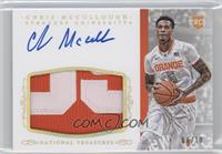 Basketball Materials Signatures - Chris McCullough /10