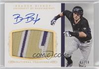 Baseball Materials Signatures - Braden Bishop /10