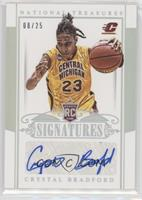 Rookie Signatures - Crystal Bradford [Noted] #/25