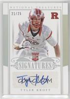Rookie Signatures - Tyler Kroft /25