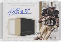 Football Materials Signatures - Breshad Perriman /25