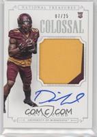 Football Materials Signatures - David Cobb /25