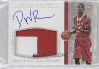 Basketball Materials Signatures - Delon Wright /25