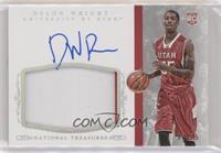 Basketball Materials Signatures - Delon Wright #/25
