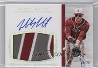 Baseball Materials Signatures - Mikey White /25