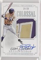 Baseball - Braden Bishop #/25