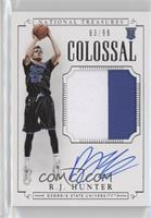 2016 National Treasures - R.J. Hunter /99