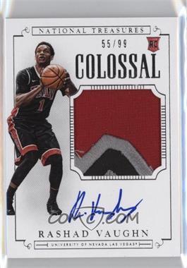 2015 Panini National Treasures College - [Base] - Colossal Signatures [Autographed] [Memorabilia] #370 - Basketball - Rashad Vaughn /99
