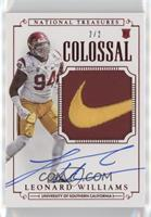 Football Materials Signatures - Leonard Williams /2