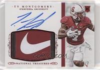 Football Materials Signatures - Ty Montgomery #/2